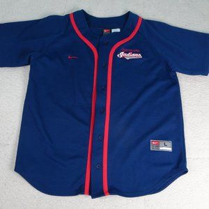MLB Cleveland Indians Nike Jersey Youth L (16-18)